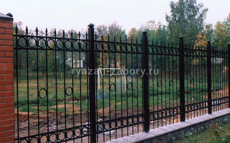 ковка на забор цена