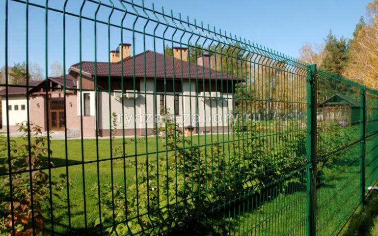 3д забор в Рязани