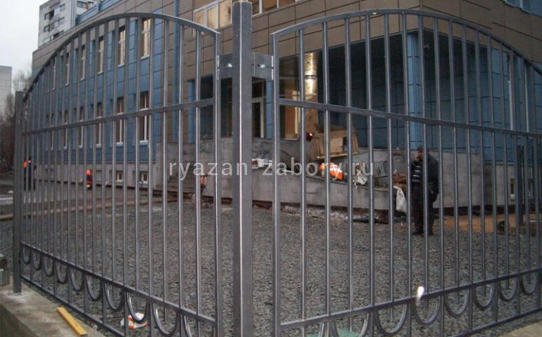 забор из профтрубы в Рязани